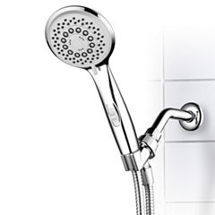 HotelSpa® High-Power Spiral 7-Setting Luxury HandShower with Patented ON/OFF Pause Switch