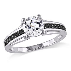 Midnight Black Diamond 1/6 CT. T.W. Color-Enhanced Black Diamond Engagement Ring