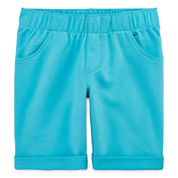 Okie Dokie Knit Bermuda Shorts - Preschool Girls