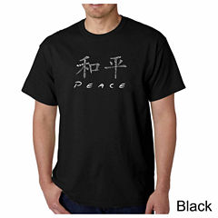 Los Angeles Pop Art Short Sleeve Music Graphic T-Shirt