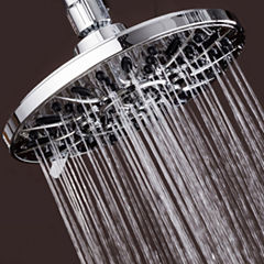 "AquaDance® Premium-Plus High Pressure 6-setting 7"" Rainfall Shower Head / Premium Chrome"