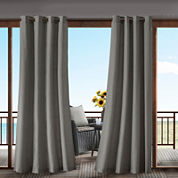 Madison Park Mission Grommet-Top Outdoor Curtain