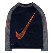Nike Swoosh Long-Sleeve Dri-Fit Top - Boys 4-7