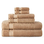 Royal Velvet® Luxury Egyptian Cotton Loops 6-pc. Bath Towel Set
