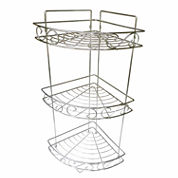 Elegant 3-Compartment Shower Caddy
