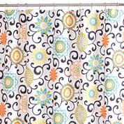 Waverly® Pom-Pom Shower Curtain