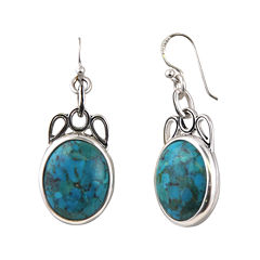 Art Smith by BARSE Genuine Turquoise Drop Earrings