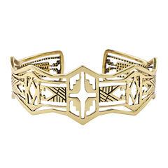 Art Smith by BARSE Brass Cutout Cuff Bracelet