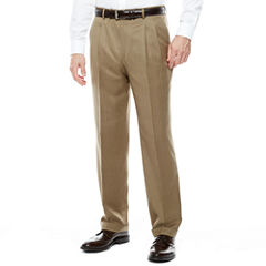 Stafford® Travel Pleated Suit Pants - Classic
