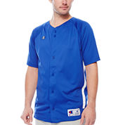 Champion® Prospect Short-Sleeve Full-Button Jersey