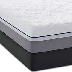 Sealy® Posturepedic® Premier Hybrid Cobalt Firm - Mattress + Box Spring