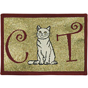 PB Paws by Park B. Smith® Cat Person Tapestry Pet Mat
