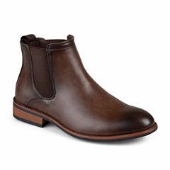 Vance Co Landon Chelsea Mens Dress Boots