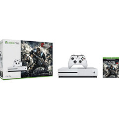 Microsoft - Xbox One S 1TB Gears Of War 4 Console Bundle - White