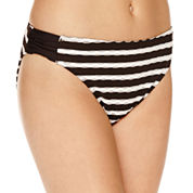 Aqua Couture Zig Zag Bra Top or Stripe Hipster Swimsuit Bottoms