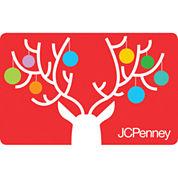 $100 Reindeer Ornaments Gift Card