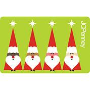 Santa Quartet Gift Card
