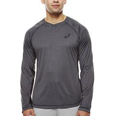 Asics® Long-Sleeve Trainer Henley