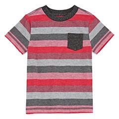 Arizona Boys Striped T-Shirt - Toddler