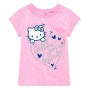 Hello Kitty Girls Hello Kitty Graphic T-Shirt-Toddler