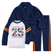 Bunz Kidz 3-pc. Pant Pajama Set Boys