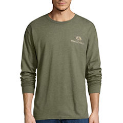 Mossy Oak Long Sleeve Crew Neck T-Shirt