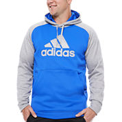 Adidas Long Sleeve Knit Hoodie Big and Tall