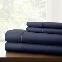 Pacific Coast Textiles Lombard Embossed MicrofiberWrinkle Resistant Sheet Set
