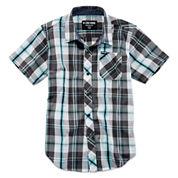 Zoo York® Short-Sleeve Button-Front Plaid Shirt - Boys 8-20