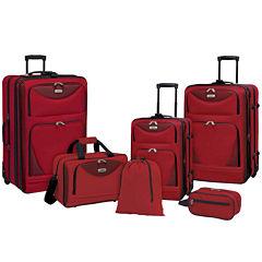 Travelers Club Eva 6-pc. Luggage Set