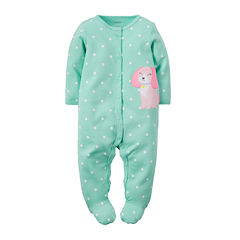 Carter's® Polka Dot Puppy Sleep & Play - Baby Girls newborn-9m