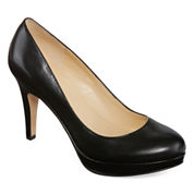 Liz Claiborne Sunny Womens Leather Pumps
