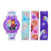 Unisex Purple Strap Watch-Fzn3932jc