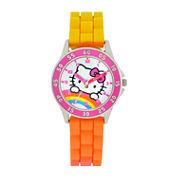 Hello Kitty Boys Pink Strap Watch-Hk9000jc