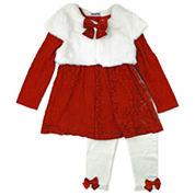 Nanette Baby Girls Legging Set-Baby