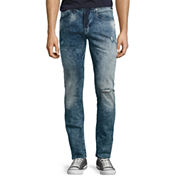 Arizona Skinny Acid Wash Denim