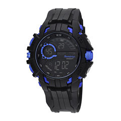 Armitron® Mens Blue Strap Watch 40/8335BLUJ