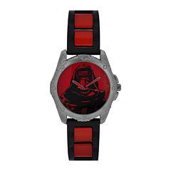 Star Wars®Mens Red Strap Watch