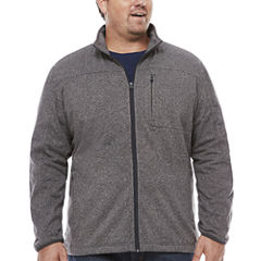 The Foundry Big & Tall Supply Co. Fleece Jacket Big and Tall