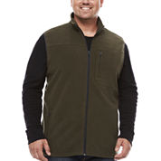 The Foundry Supply Co. Fleece Vest Big and Tall