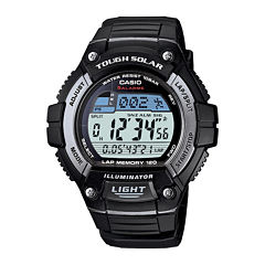 Casio® Tough Solar Illuminator Mens Digital Watch WS220-1A