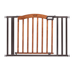 Summer Infant® Decorative Wood & Metal 5-Foot Pressure Mounted Gate