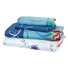 Disney Little Mermaid Sheet Set