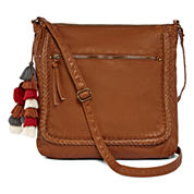 Arizona Top Zip Braid Crossbody Bag
