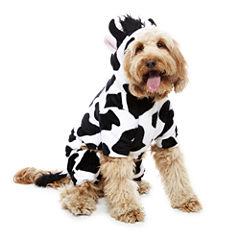 Cow Long Sleeve One Piece Pajama