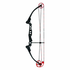 Genesis Mini Righthand Bow Black with Red Cam