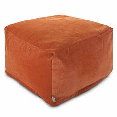 Large Beanbag Ottoman