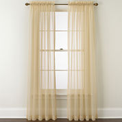 Croscill Classics® Denise Rod-Pocket Sheer Panel