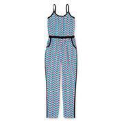 Total Girl® Sleeveless Jumpsuit - Girls 7-16