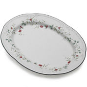 Pfaltzgraff® Winterberry Oval Serving Platter